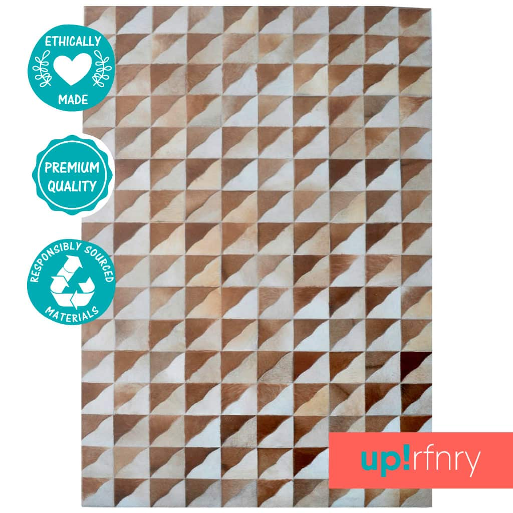 Brown Triangle Patchwork