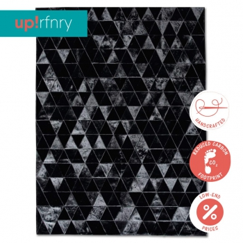 Triangle Cowhide Rug