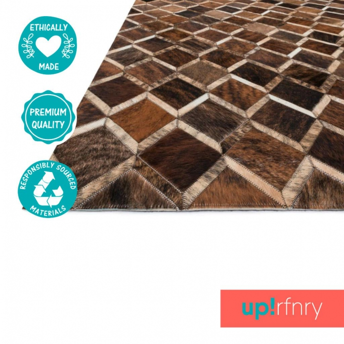 Diamond Patchwork Rug