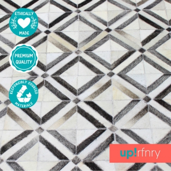 Diamond Tile Patchwork Rug