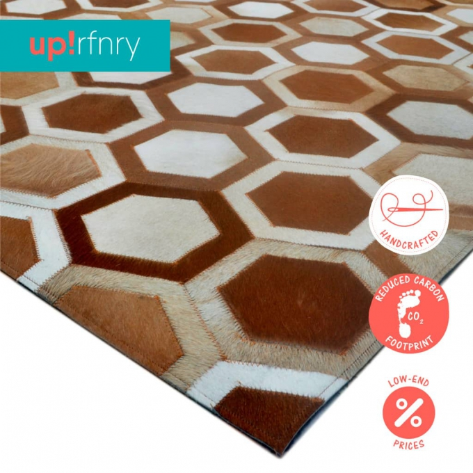 Hexagon Area Rug