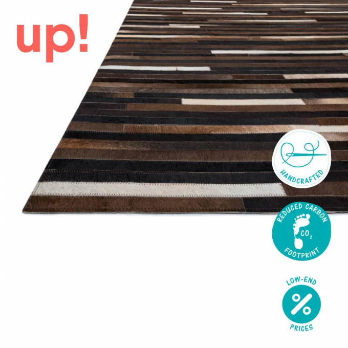 Patchwork Stripe Rug